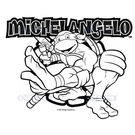 michelangelo turtle coloring page free coloring pages of turtle stencil
