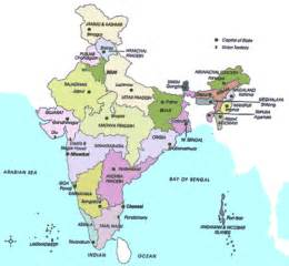 A Map Of India by India Maps