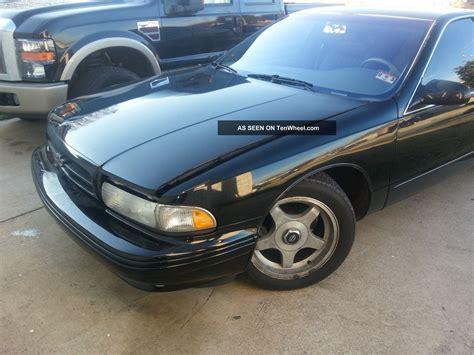 rwd impala 1995 chevy impala ss 5 7l rwd black all stock