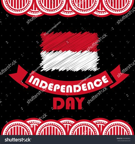 design indonesia independence day indonesia independence day abstract flag design national