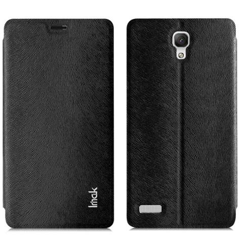 Redmi Note 4 Leather Flip Kulit Mofi Casing Free Tempered Glass jual imak flip leather cover series for xiaomi redmi