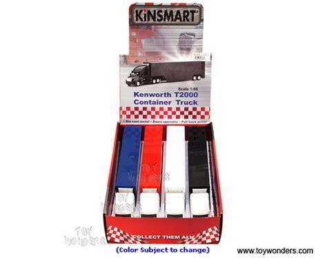 Kinsmart Kenworth Container 168 kinsmart kenworth t2000 container truck 1 66 scale diecast model car asstd 1301dw