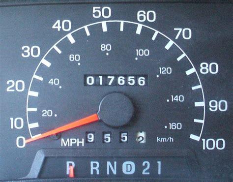 ford ranger odometer repair solution