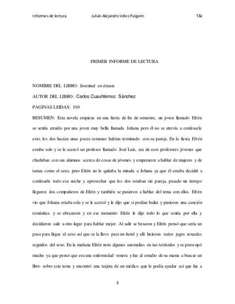 Informesdelectura julianalejandrovelezpulgarin10b30de