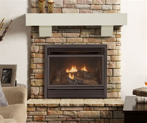 Small Gas Fireplace In Decent See Through Gas Fireplace