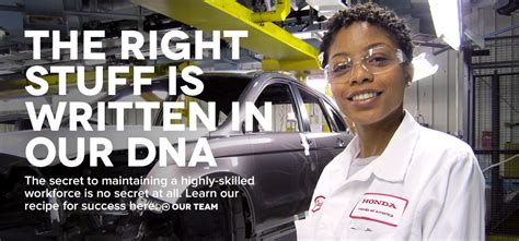 honda careers ohio honda of america employment