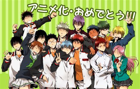 wallpaper anak basket anime kuroko s no basuke