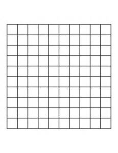10 x 10 square 10 by 10 grid clipart etc