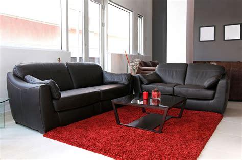 como decorar sala negra decorar sal 243 n en rojo negro y gris hogarmania