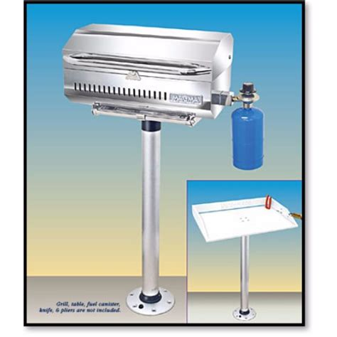 boat grill with pedestal magma pedestal mount t10 185 the harbour chandler ltd