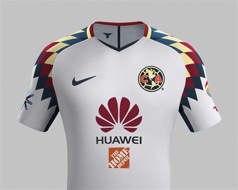 Imagenes Nike Club America | nike club am 233 rica 17 18 away kit released footy headlines