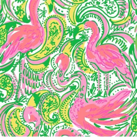 lilly pulitzer flamingo idealdrivewayscom