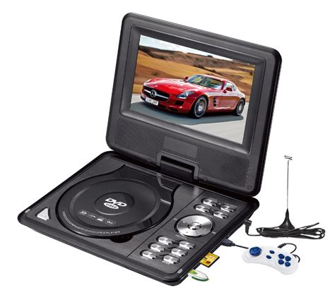 Portable Dvd Player Gmc 9 Inch price 7inch portable tv with battery 2 hours play dvd