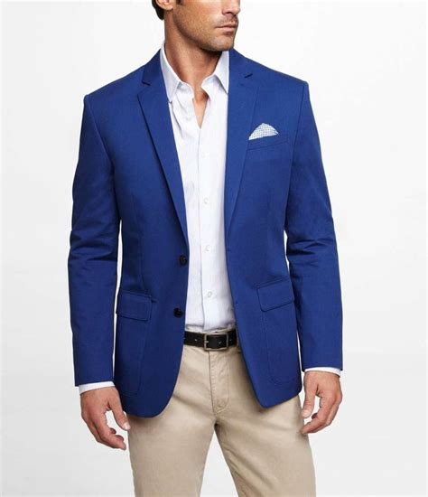 Blue Blazer express blue twill blazer on wantering 99 sale price