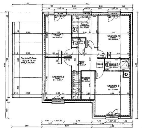 Plan De Maison Facade by Plan Maison 2 Facades