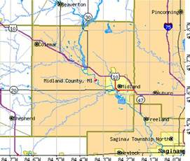 midland county map midland county michigan detailed profile houses real