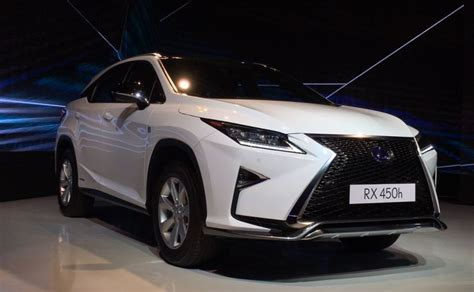Lexus Jeep Lexus Rx 450h Launched In India Priced At Rs 1 07 Crore