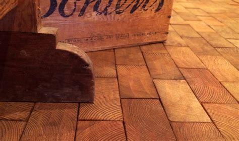 Wood Block Flooring by Before After Cartolina S End Grain Block Flooring