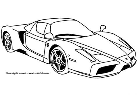 Coloriage Ferrari Enzo Coloriages 224 Imprimer Gratuits