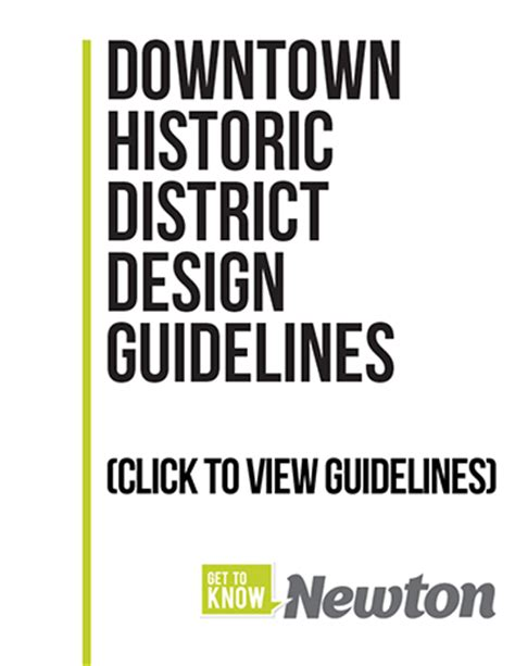 design guidelines for local historic districts newton historic district design guidelines bergland cram