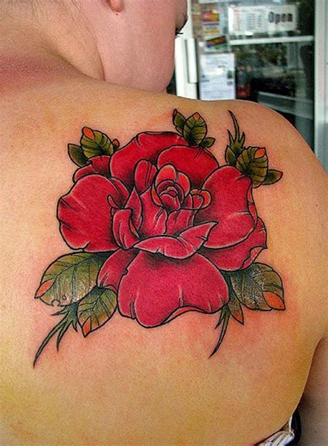 small red rose tattoo designs 35 beautiful designs and meanings