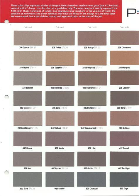 solomon concrete colors colors to choose from