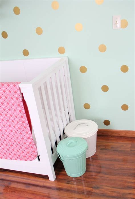 Mint Green And Pink Baby Room