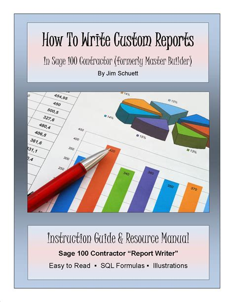 custom book report 100 contractor archives sage100reports