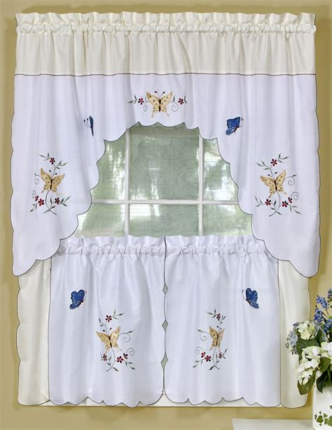 kitchen curtains sets discount kitchen curtain sets swags tiers swags galore kitchen curtains