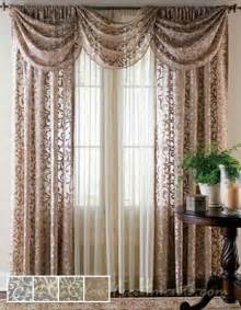 85 Inch Curtains Bordeaux Lace Sheer Curtain Drapery Panels