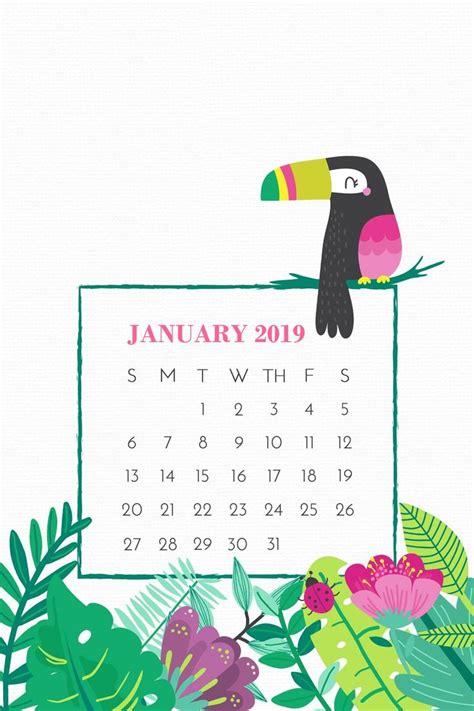 january  smartphone calendar screensaver background  images kids calendar printable