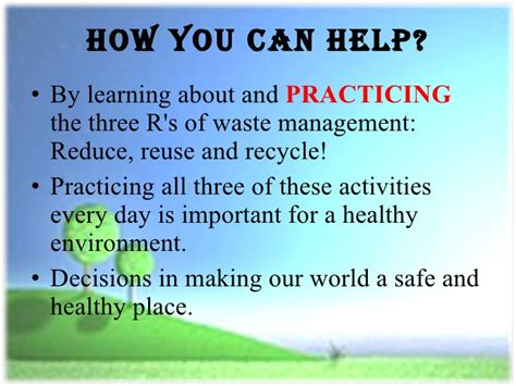 reduce reuse recycle environment powerpoint templates reduce reuse recycle ppt for kids room kid