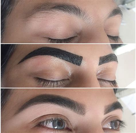 tattoo eyebrows at home eye brow tint make up pinterest brow tinting eye