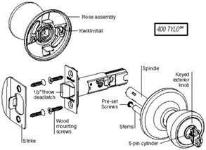replace door knob with deadbolt door locks and knobs
