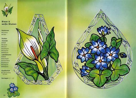 imagenes para pintar vitrales vitrales especial flores 171 variasmanualidades s blog