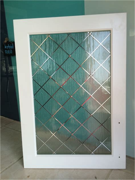 Decorative Glass Cabinet Door Inserts Cabinet Home