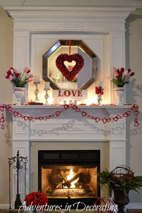 valentines mantel 17 best images about mantel ideas on