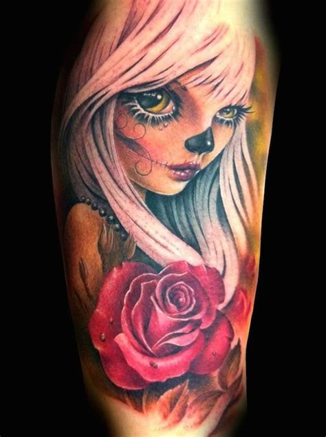 day of the dead tattoos top 30 designs