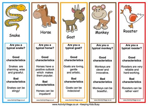 printable animal personality test hit a home run in the year of the boar and jackie