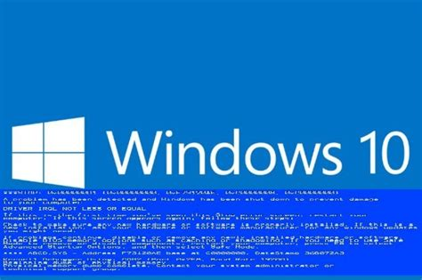 install windows 10 blue screen how to fix windows 10 mobile s blue screen of death
