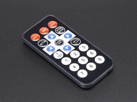 Room Layout Maker mini remote control id 389 4 95 adafruit industries