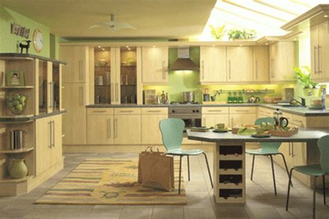 green and yellow kitchen decor housedesignpictures com