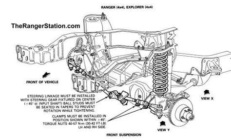 1996 ford ranger front suspension diagram 1996 ford explorer front end parts diagram autos post