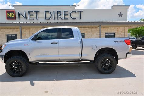 toyota tundra 2012 lifted 2012 toyota tundra cab lifted 4x4 truck
