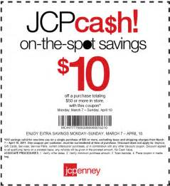 How can you save money with printable jcpenney coupons