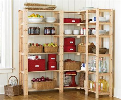 Wood Pantry Shelving Organizing The Kitchen Pantry In 5 Simple Steps