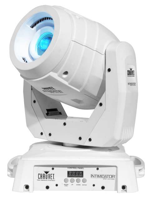Moving Light Fixtures Intimidator Spot Led 350 Moving Chauvet Dj Light Fixture White