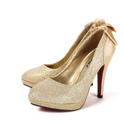 Gold Heels For Wedding by Gold Heels For Wedding Heels Vip