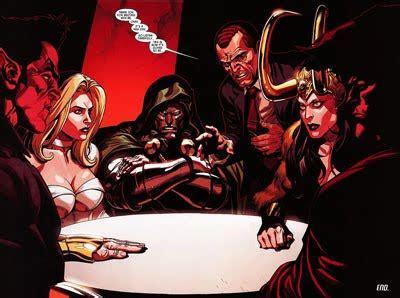 gli illuminati marvel ottobre 09 diventa regno oscuro inizia