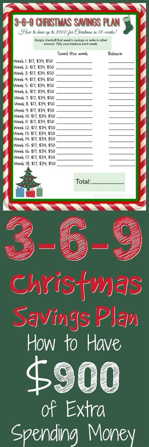 printable christmas savings plan 3 6 9 debt free christmas savings plan with free printable